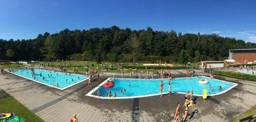 Record aantal bezoekers buitenbaden