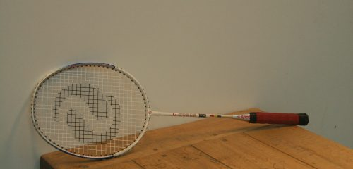 Badminton racket per 2 + shuttle