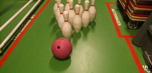 Bowlingspel groot