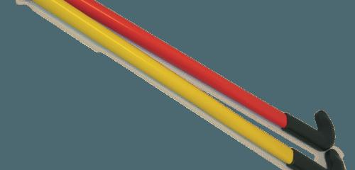 Hockeystick plastic (set van 2 met bal)