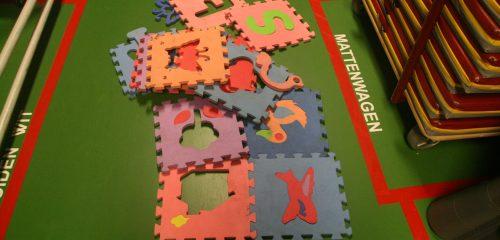 Puzzel Speeltapijt
