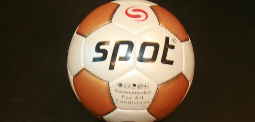 Voetbal plastic