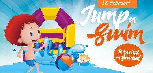 Mega Jump & Swim-festijn